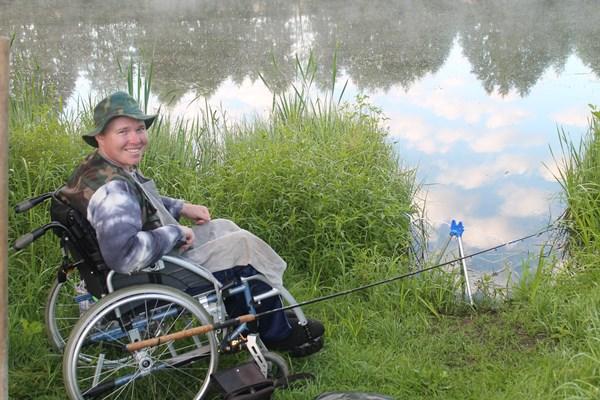 инвалиды на рыбалке